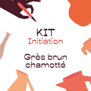 KIT initiation – grès brun chamotté – A RETIRER SUR PLACE